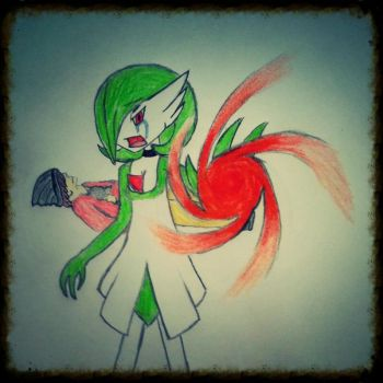 Airalin The Gardevoir by TheUltimateGravoid