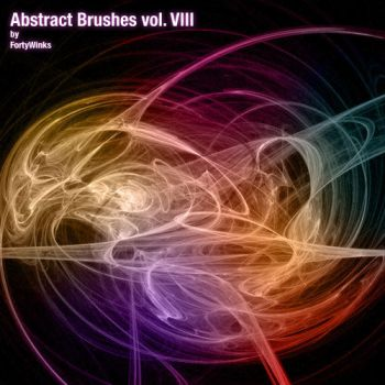Abstract brush pack vol. 8 by forty-winks