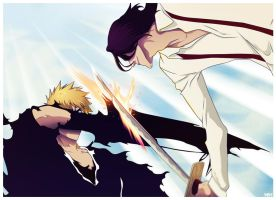 Ichigo VS Tsukishima by Wish-Man