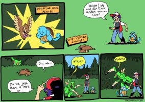 Random Encounter by JHALLpokemon