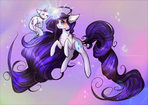 Rarity: Goddess of generosity by Wilvarin-Liadon