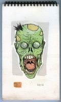 SKETCHBOOK Monsters 1 of 15 zombie by mdavidct