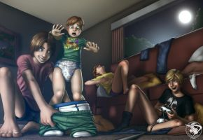Sleepovers are for big kids ONLY! by dyperdrive