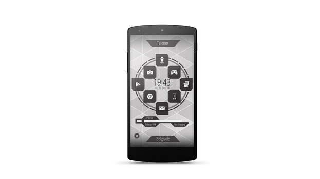 CtOS Android Theme Front view by 4-ever-darkness