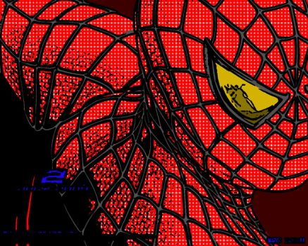 Spiderman Popart by WoofyD