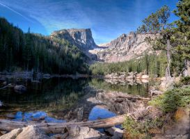 Dream Lake-c53-2546-100-2 by abstractcamera