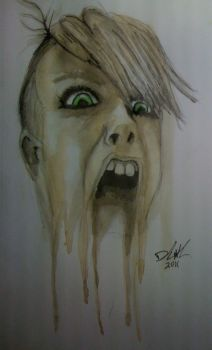 scream by Faufar