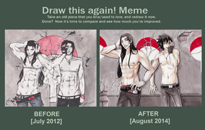 Uchiha Before and After Meme by VictoriaMelissa