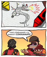 TF2 - Trogdor the Backburninator by Dragonith