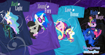 Duality Tee Shirts by PixelKitties
