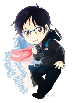 Happy Birthday Yuuri by GYRHS