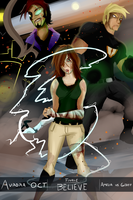 AuroraOCT - Final Round *BELIEVE* Cover Page by AndrewMartinD