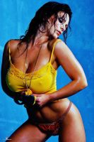 denise milani wet shirt by andyhsu666666