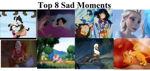 My Favorite Top 8 Sad Moments by SonicX16