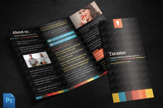 Teramo Tri Fold Brochure Template by quickandeasy1