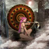 Keeper of The Talisman by ScraNo