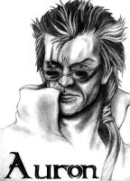 FFX- Auron by IndustrialOrder