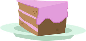 Slice of Cake by Vectorshy