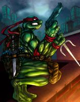 lonewolf raph colors by vic55b