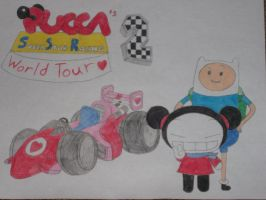 Pucca's Superstar Racing 2: World Tour by rabbidlover01