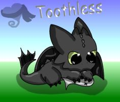 Toothless and his Fish by turtwigturt
