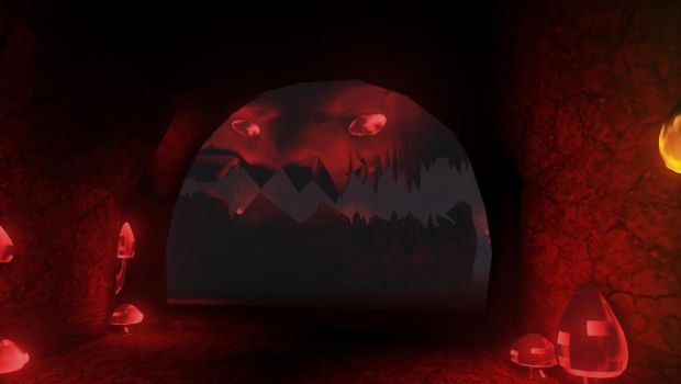 Scary Cave Face by Aquin7777