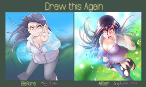 Draw-this-again! - Hinata by AO-RY