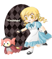 Mami-san in Wonderland by Ailish-Lollipop