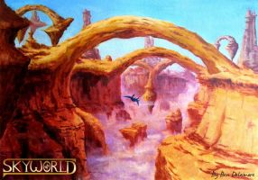Skyworld: Canyons by Ben-Delamore