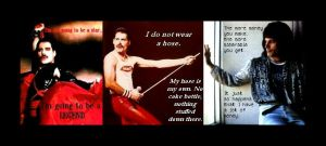 Freddie's Quotes II by GetYourWings