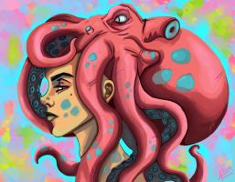 the Octopus Power by Aakami