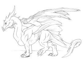 My Basic Dragon by VaraAnn