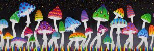 The Fungal Forest by Liquid-Mushroom