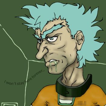 Rick In Space Jail By Sususketches by gotibas