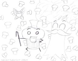 Xanauzumaki's Navi Muffin Time!! by Suemoons