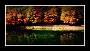 Autumn by the river by VesnaRa14