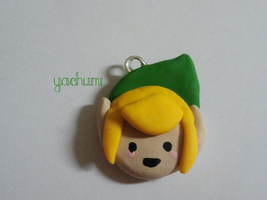 Legend of Zelda: Link charm by yachumichan77