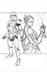 Commanders and Generals: Ganch and Keelyvine WIP by Hodges-Art