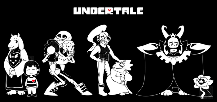 Undertale by The-PaperNES-Guy