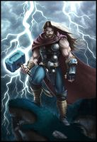 God of Thunder by WesTalbott
