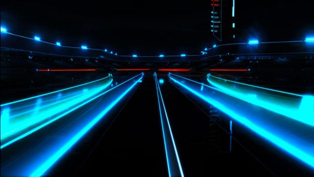 Tron Legacy-Battle For The Grid by TheRenegade01