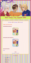 Bad Touch Trio Journal Skin by GydroZMaa