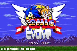 SONIC EVOLVE: Title by MobileSuitSonic