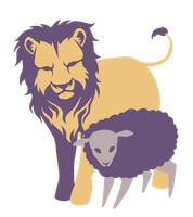 The Lion and The Sheep Logo by FigBeater