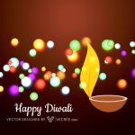 Colorful Diwali Diya Free Vector by vecree