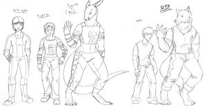 The Lineup- 2 of 3 by The-Alchemists-Muse