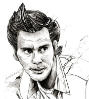 WIP - Ace Ventura by thefreshdoodle