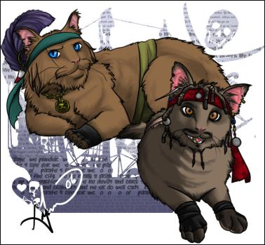 Cats of the Caribbean by guardian-GARM