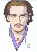 Johnny Depp by tygertailzz