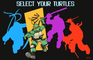 Select your Turtles by RamonVillalobos